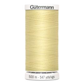 Gutermann 325 Lichtgeel | Naaigaren 500m