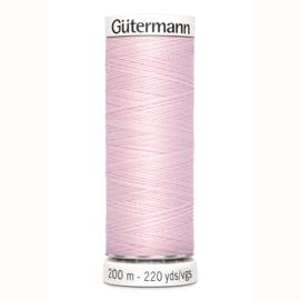 Gutermann 372 Licht rose | Naaigaren 200m