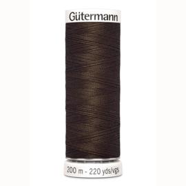Gutermann 817 Donker bruin | Naaigaren 200m