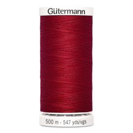 Gutermann 46 Donker rood | Naaigaren 500m