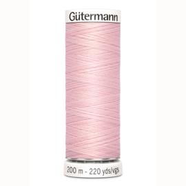 Gutermann 659 Licht rose | Naaigaren 200m