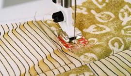 HUSQVARNA Transparante patchworkvoet 6 mm