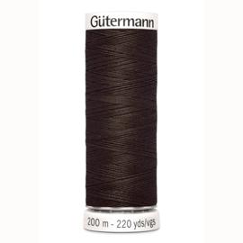 Gutermann 780 Donker bruin | Naaigaren 200m