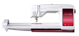 HUSQVARNA VIKING DESIGNER RUBY 90 + gratis lintborduurapparaat t.w.v. 499 euro