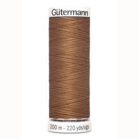 Gutermann 842 Licht bruin | Naaigaren 200m