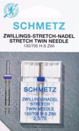 Tweelingnaald Stretch 2.5 / 75