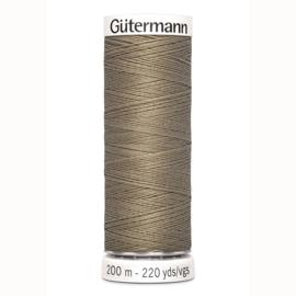Gutermann 724 Donker beige | Naaigaren 200m
