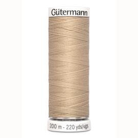 Gutermann 186 Beige | Naaigaren 200m