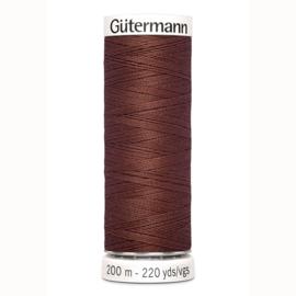 Gutermann 478 Rood bruin | Naaigaren 200m