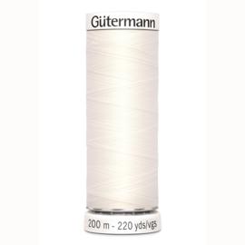 Gutermann 111 Ivoor | Naaigaren 200m