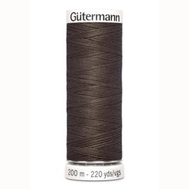 Gutermann 480 Donker lever | Naaigaren 200m