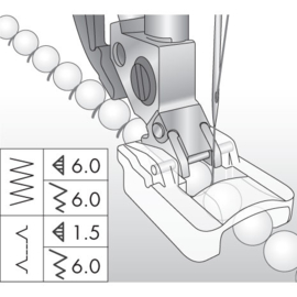 PFAFF Kraalvoet 6 mm