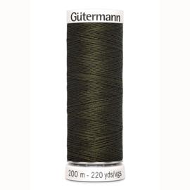 Gutermann 531 Bruin groen | Naaigaren 200m