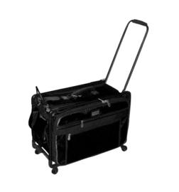 TUTTO Trolley voor naaimachine L Large Zwart
