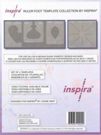 Inspira Ruler Foot Template Collection