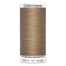 Gutermann 139 Donkerbeige | Naaigaren 500m