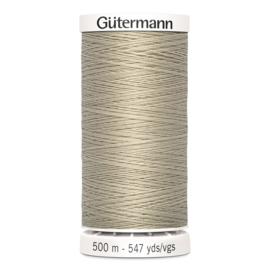 Gutermann 722 Lichtbeige | Naaigaren 500m