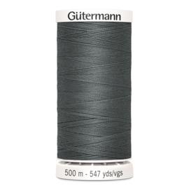 Gutermann 701 Donkergrijs | Naaigaren 500m
