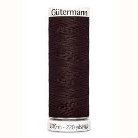 Gutermann 696 Donker bruin | Naaigaren 200m