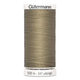 Gutermann 868 Donkerbeige | Naaigaren 500m