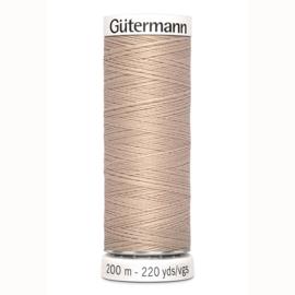 Gutermann 121 Beige | Naaigaren 200m