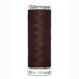 Gutermann 694 Midden bruin | Naaigaren 200m