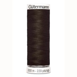 Gutermann 674 Donker bruin | Naaigaren 200m