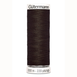 Gutermann 769 Diep donkerbruin | Naaigaren 200m