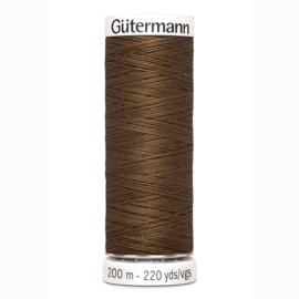 Gutermann 289 Midden bruin | Naaigaren 200m