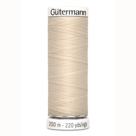 Gutermann 169 Licht beige | Naaigaren 200m