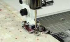 HUSQVARNA Instelbare quiltvoet 6 mm met geleider rechts