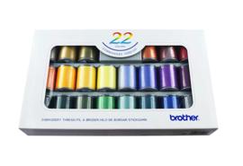 BROTHER Borduurgarenset 22 kleuren | ETS22