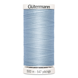 Gutermann 75 Lichtblauw | Naaigaren 500m