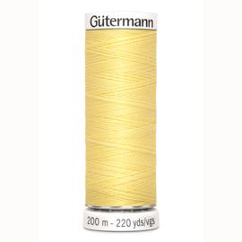 Gutermann 578 Licht geel  | Naaigaren 200m