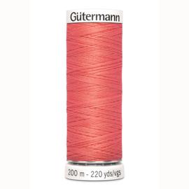 Gutermann 896 Donker zalm | Naaigaren 200m