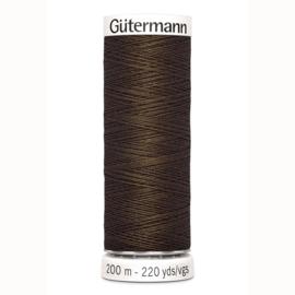 Gutermann 816 Midden bruin | Naaigaren 200m