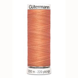Gutermann 587 Donker zalm | Naaigaren 200m