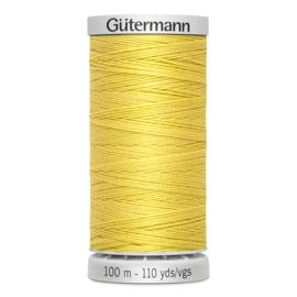 Gutermann 327 Geel | Super sterk naaigaren 100m
