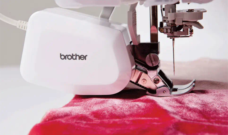 BROTHER Boventransportvoet DF1 | Gemotoriseerde dubbeltransport voet