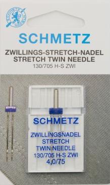 Tweelingnaald Stretch 4.0 / 75