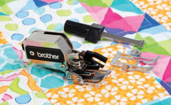 BROTHER Dynamische Boventransportvoet Set | F085