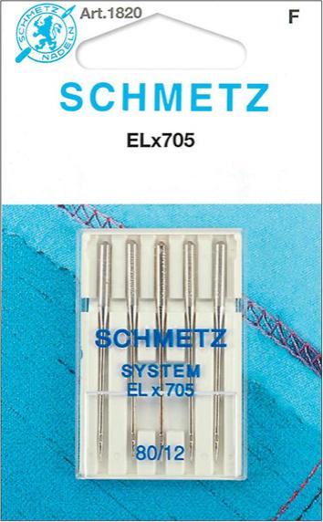 SCHMETZ Overlock ELx705 80