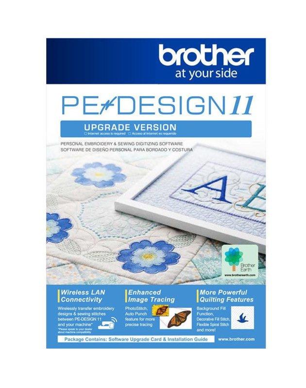 BROTHER UPGRADE PE DESIGN 11 (van PED 5/6/7/8/Next)