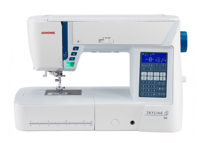 JANOME Skyline S6 | met AcuFeed + gratis accessoiresbox t.w.v. 99 euro | JANOME naaimachine | BEKKERS Naaimachines