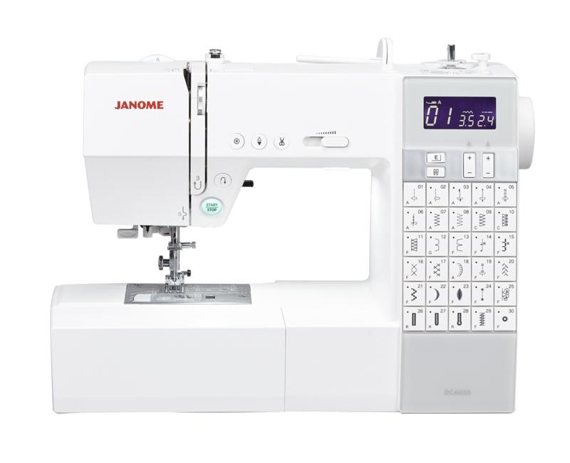 JANOME DC6030   30 steken   inclusief aanschuiftafel