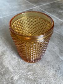 Waterglas amber (Diamond - bicos) / Vista Alegre