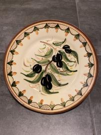 Bord met olijven 24cm (jc-p4)