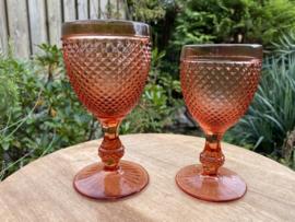 Diamond glas Vista Alegre roze M