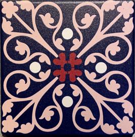 Keramische onderzetter Sevilla 9,5x9,5cm