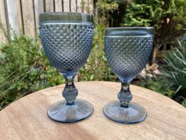 Wijnglas M grijs (Diamond - bicos) / Vista Alegre